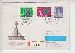 SVIZZERA 1966 -  Raccomandata Per Luzern - Switzerland