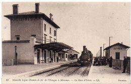 ISTRES - Ligne Chemin De Fer De L' Estaque A Miramas  La Gare D' Istres    (1602 ASO) - Istres