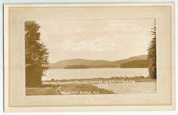 CPA Etats-Unis > NY - New York > Adirondack - Blue Mt Lake - Real Photo By North River Studio - Adirondack