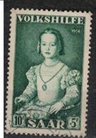 SARRE       N°  YVERT  :  335   ( 4 ) OBLITERE       ( Ob   7/ 45  ) - Used Stamps