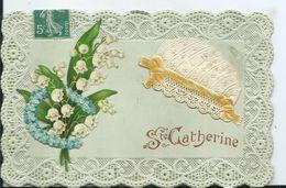 CARTE FANTAISIE - SAINTE CATHERINE - Sainte-Catherine