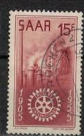 SARRE       N°  YVERT  :  340     OBLITERE       ( Ob   7/ 45  ) - Usados