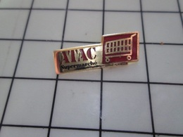 1220 Pin's Pins / Beau Et Rare / THEME : MARQUES / SUPERMARCHE ATAC CHARIOT CADDIE Par PROMOPLUS - Marques