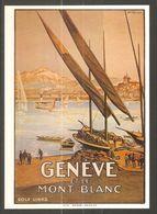 Carte P ( Genève Et Le Mont-Blanc ) - GE Genève
