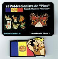 PINS JOYA COLECCION FORMA MARIPOSA DIURNA Nº 603 Del Catalogue Caça Pins Andorra - Animales