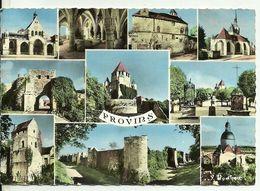 77  PROVINS  Multivues La Ville Haute Les Remparts Porte Saint Jean Eglise Saint Quiriace Granges Aux Dimes Multi Vues - Provins