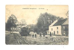 JEMEPPE ( Hargimont ) Le Tram - Vicinal  (b280)1918- Etat Moyen, Voir Scans - België