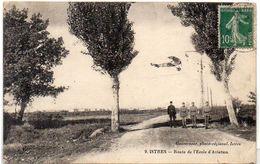ISTRES - Route De L' Ecole D' Aviation - Avion   (1615 ASO) - Istres