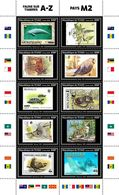 CHAD 2020 - Big Cat, Fauna On Stamps M2. Official Issue. - Felinos