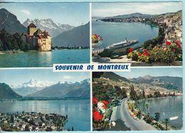 Svizzera Cantone Vaud Castello De Chillon Souvenir Ricordo De Montreux - VD Vaud