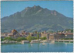 Luzern Mit Pilatus -  (Uitg.: Preventieve Luchtkuren Der Christelijke Mutualiteiten, Melchtal) - 1967 - LU Lucerne