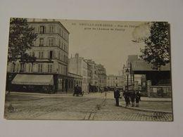 HAUTS DE SEINE-RUE DU CHATEAU PRISE DE L'AVENUE DE NEUILLY ED ELD-ANIMEE - Neuilly Sur Seine