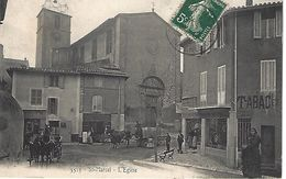 CPA13- MARSEILLE- SAINT MARCEL- L'Eglise - Saint Marcel, La Barasse, Saintt Menet