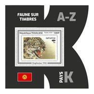 TOGO 2020 - Fauna, Kirghizstan: Wild Cat. Official Issue. - Felinos