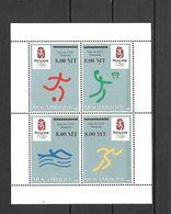 Olympische Spelen 2008 , Mozambique - Blok Postfris - Verano 2008: Pékin
