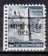 USA Precancel Vorausentwertung Preo, Locals Oklahoma, Muskogee 703 - Estados Unidos