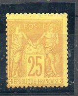 N°92** NEUF SANS CHARNIERE  COTE 600 EURO   PRIX DEPART 20 EURO - 1876-1898 Sage (Type II)