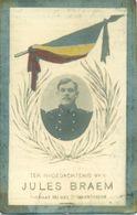 WO1 / WW1 - Doodsprentje Jules Braem - Ledeberg / Rotselaar - Gesneuvelde - Décès