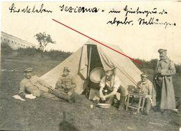 Grammophon Grammofon Rasieren Barbeir - Jezierzany Ternopil Tarnopol Ukraine Galazien Guerre 14/18-WWI Photo Allemande - 1914-18