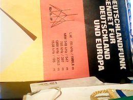 FANION TELA GAGLIARDETTO  RADIO DFL  GERMANY DEUTSCHLANDFUNK      HQ9883 - Ecussons Tissu
