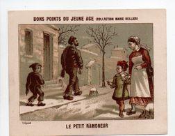 - CHROMO BONS POINTS DU JEUNE AGE - COLLECTION MARIE BELLIER - LE PETIT RAMONEUR - - Trade Cards