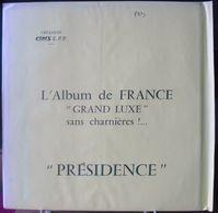 CERES - Jeu PRESIDENCE/FRANCE Aviation 1997/2000 (REF. AV9) - Fogli Prestampati