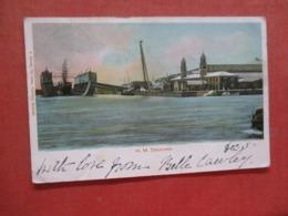 H.M. Dockyard Has Stamp & Cancel  Ref 4212 - Bermuda
