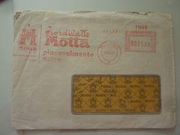 """Busta Viaggiata Pubblicitaria """"FIORDILATTE MOTTA PIACEVOLMENTE NUTRE"""" 1959 - 1946-60: Marcophilia"""