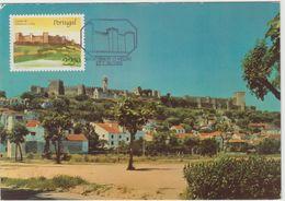 Carte Maximum PORTUGAL N°Yvert 1676 (Château De MONTEMOR-O-VELHO) Obl Sp Ill 1986 - Maximum Cards & Covers
