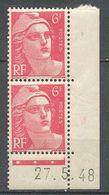 FRANCE - 1945 - NR 721A  YT - MARIANNE DE GANDON - Neuf - France