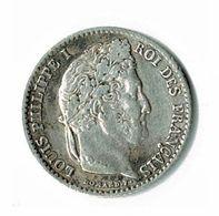 LOUIS PHILIPPE 1er / UN QUART DE FRANC / 1842 B - ROUEN / ETAT SUP - France