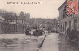Montargis : Le Canal Du Loing Débordé - Montargis