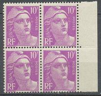 FRANCE - 1948 - NR 811  YT - MARIANNE DE GANDON - Neuf - Ungebraucht