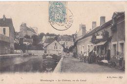 Montargis : Le Château, Vu Du Canal - Montargis