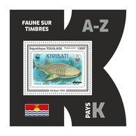 TOGO 2020 - Fauna, Kiribati: Shark. Official Issue. - Fishes