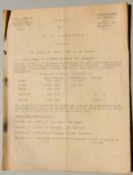 Vente De Bois Façonnés, 1962, Ainvelle, Damblain,...(Vosges) - Sammlungen