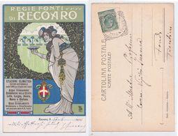 Regie Fonti Di Recoaro - Stazione Climatica, Illustrata Da Tito, Salus, Pubblicitaria, Publicitè,station Climatique,1903 - Publicité
