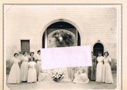 D41 SAINT-AIGNAN. PHOTO DE MARIAGE. STUDIO GEORGES ANGELI. - Places