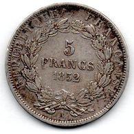 5 Francs 1852 A  / TB+ - France