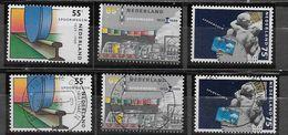 Nederland - 1989 - Yvert 1336/1338 - ** En O - Spoorwegen. - Periodo 1980 - ... (Beatrix)