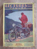 Revue Lectures Pour Tous Publicité Moto Monet Goyon Avril 1931 Phosphatine Falières - Livres, BD, Revues