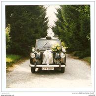 PHOTO ORIGINALE COULEUR TAXI ANGLAIS MARIAGE - Cars