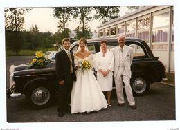 PHOTO ORIGINALE - TAXI ANGLAIS MARIAGE - ENGLISH WEDDING TAXI - Cars
