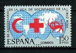 ESPAGNE 1969 N° 1582 ** Neuf MNH Superbe Ligue Des Sociétés Croix Rouge Red Cross - 1931-Aujourd'hui: II. République - ....Juan Carlos I