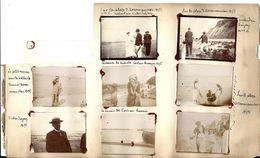 PORT En BESSIN > Pêcheuses De Moules (1896) - ARROMANCHES (1898) > Petit Ramasseur De Balles Tennis 10 Photos Originales - Port-en-Bessin-Huppain