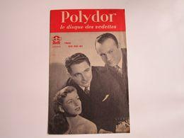 TRIO DO-RE-MI - Disques POLYDOR - Supplément N°5 De Juin 1951 - Les Derniers Disques Parus (8pages) - Musica & Strumenti