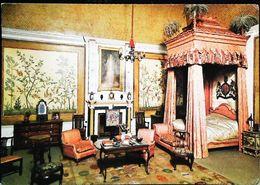 Maison De Poupée  Doll  De La Reine Mary Chateau Windsor   Chambre Roi Lit Baldaquin - Carte Postale Card - Dolls