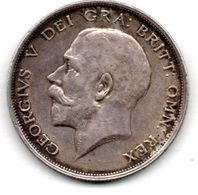 Grande Bretagne / 1/2 Crown 1916 / Georges V / TTB - 1902-1971 : Post-Victorian Coins