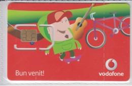 Romania - Vodafone Phonecard - Brand New Phonecard With Credit - SIM - Roumanie