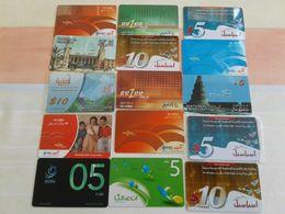 Iraq - 15 Nice Phonecards - Irak
